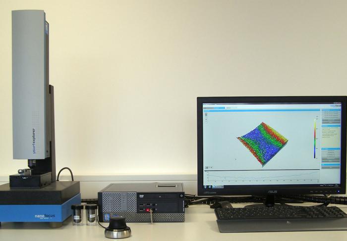 Abbildung: 3D Messgerät µsurf explorer NanoFocus GmbH