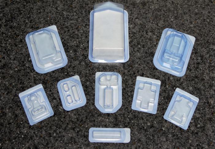 Abbildung: sterile Blisterverpackungen