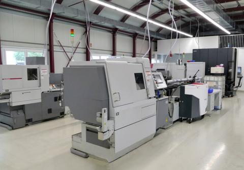 Abbildung: CPM Deltaturn GmbH Produktion