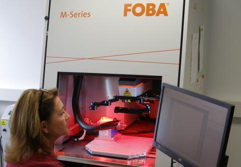 Abbildung: Beschriftungslaser FOBA M-Series