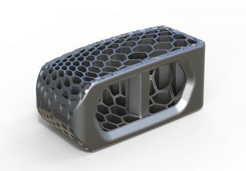 Abbildung: SLM Cage